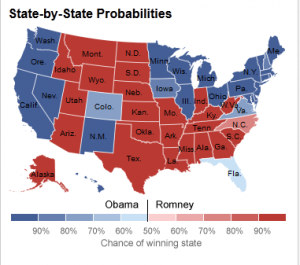 Nate Silver's Election Map
